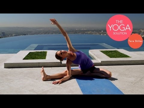 5 minute - Like this yoga workout? Thumbs up above and Subscribe: http://bit.ly/z7ZO27 Feeling a little tight and sore but have limited time to do something about it? T...
