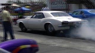 Muscle Cars, Pro Street Chevys&Fords Drag Racing @ Dunn-Benson, NC 1/3