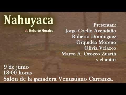 Presentación del libro: Nahuyaca
