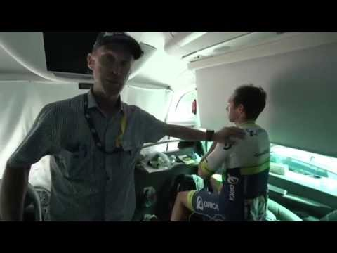 ORICA GreenEDGE Bus Tour