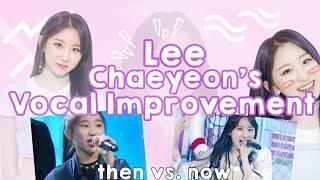 Video [이채연] Lee Chaeyeon's Vocal Improvement MP3, 3GP, MP4, WEBM, AVI, FLV Februari 2019