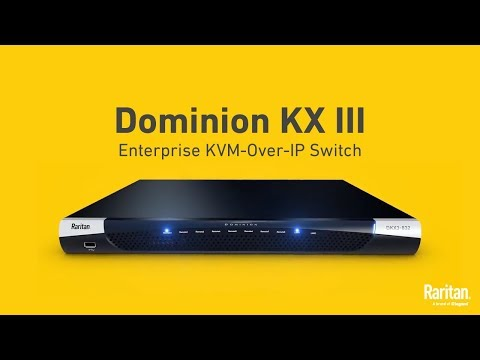 Dominion KX III |World's Leading KVM-over-IP Switch