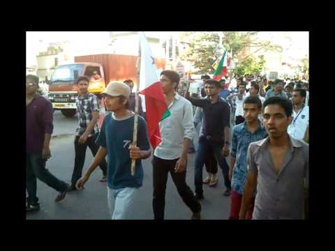 KANHANGAD - Popular Front Of India's Unity March At Kanhangad On 17th Feb 2013 Popular Front Day...