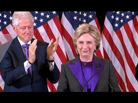 Hillary Clinton FULL Concession Speech | Election 2016 (видео)