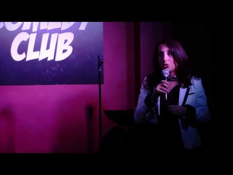 stand up comedy Funny Humor - Victoria Arnstein Performing stand up comedy at Greenwich Comedy Club New York City. Clean humor. Funny and relaxed! 6th time performing.