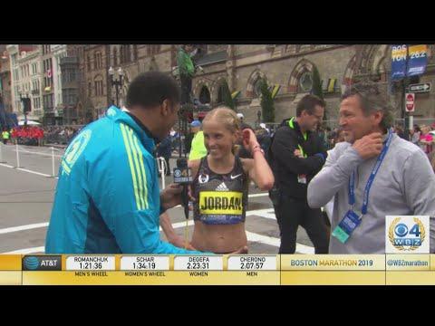 Jordan Hasay Finishes Third In Boston Marathon