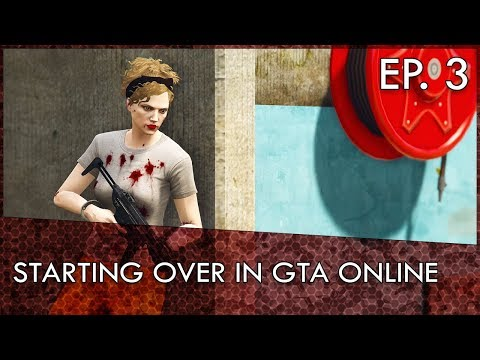GTA Online Starting Over Series Ep. 3: Breaking Out of Prison.. With Randoms