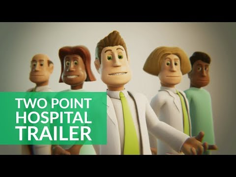 Theme Hospital sequel Two Point Hospital - first trailer (видео)