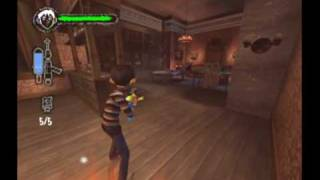 Monster House Movie Game Walkthrough Part 7:4 (GameCube)