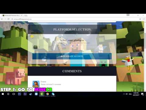 Video Minecraft Premium Accounts For Free - Minecraft Account Generator download in MP3, 3GP, MP4, WEBM, AVI, FLV January 2017
