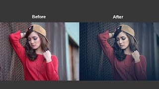 How To Adding Dramatic Color Effect Into Photo In Photoshop