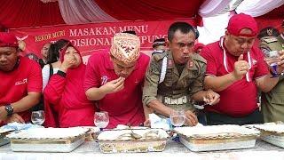 Video Mecahin rekor MURI | KULINERAN Bareng Ibu Walikota Bandar Lampung MP3, 3GP, MP4, WEBM, AVI, FLV September 2018
