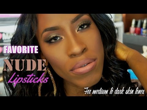 How to Wear Nude Lipsticks   Top Picks   Medium-Dark Skin Friendly   #thepaintedlipsproject