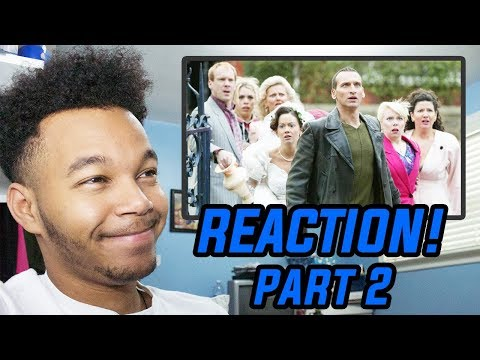 """Doctor Who Season 1 Episode 8 """"Father's Day"""" REACTION! (Part 2)"""