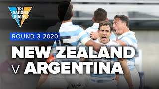 Argentina v New Zealand Rd.3 2020 Tri-nations Rugby Championship video highlights