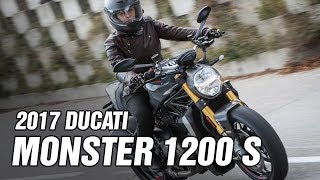 4. 2017 Ducati Monster 1200 S Spec