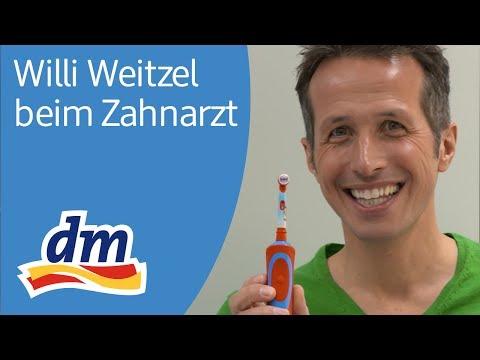 Willi Weitzel beim Zahnarzt