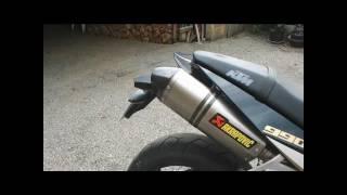 8. KTM Super Duke 990 + Akrapovic exhaust + INSANE SOUND