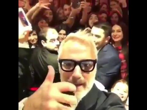 Gianluca Vacchi irrompe come una star… a Baku!