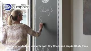 New chalkboard film by NESCHEN - Like a printable chalkboard