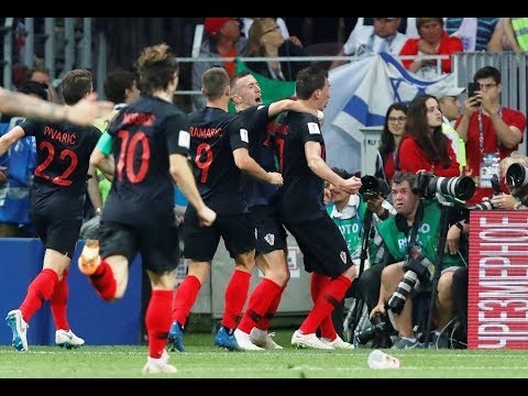 Croacia derrota a Inglaterra y jugara Final de Rusia 2018
