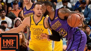 LA Lakers vs GS Warriors Full Game Highlights | 12/25/2018 NBA Season
