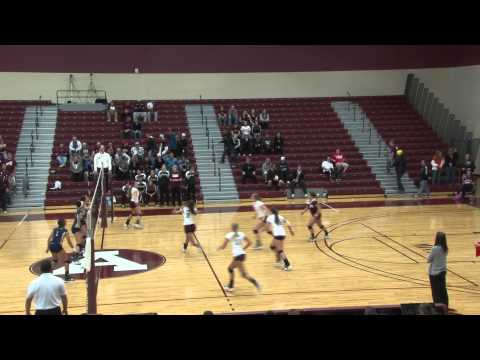 Alma College Volleyball vs Trine University - Sept. 30, 2011