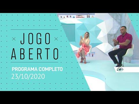 JOGO ABERTO - 23/10/2020 - PROGRAMA COMPLETO