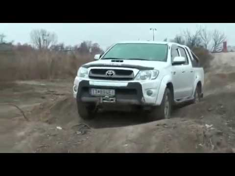 2014 New Toyota Hilux offroad Review