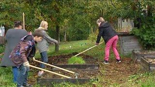 Ornans France  city pictures gallery : Le jardinage, un outil pédagogique pour les collégiens d'Ornans