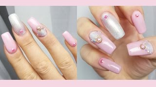 How To: Promnails like a Princess | Nail-Inspiration | DaNana - YouTube