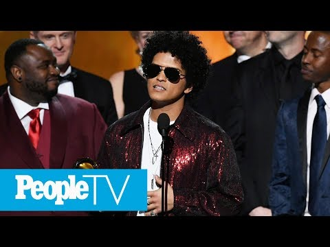 Bruno Mars' 24K Magic Beats Kendrick Lamar And JAY-Z For Grammy's Album Of The Year | PeopleTV