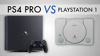 PS4 Pro vs. The Original PlayStation