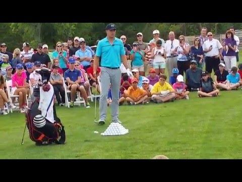 PGA Jordan Spieth-Warm up/Masters prep(3/31/15)