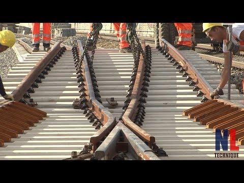World of Modern Railway Construction Technology with Amazing Machines