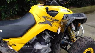 8. Can Am Renegade 800R XC
