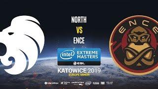 North vs ENCE - IEM Katowice EU Minor - map1 - de_train [CrystalMay & SSW]
