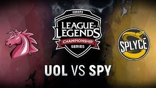 Video UOL vs. SPY - Week 6 Day 1   EU LCS Spring Split    Unicorns of Love vs. Splyce (2018) MP3, 3GP, MP4, WEBM, AVI, FLV Juni 2018
