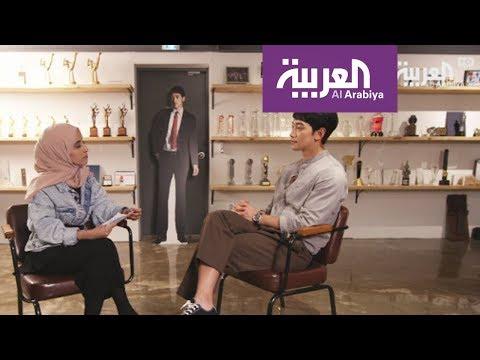 العرب اليوم - شاهد : لقاء مع الفنان الكوري الجنوبي Rain