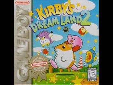 Kirby's Dream Land 2 OST :15 - Red Canyon (Map)