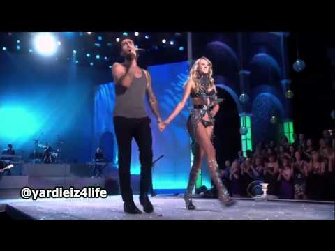 Maroon 5 – Moves Like Jagger, Victoria's Secret Fashion Show Live Performance.mp4
