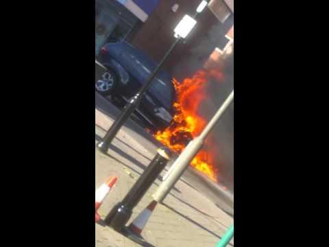 Bmw X5 Burns in Heanor