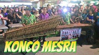 KONCO MESRA - Angklung Malioboro (Pengamen Jogja) RAJAWALI Lihat Lebih Dekat (Nella Kharisma) Video