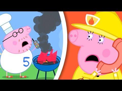 Peppa Pig Italiano -  Il camion dei pompieri - Collezione Italiano - Cartoni Animati