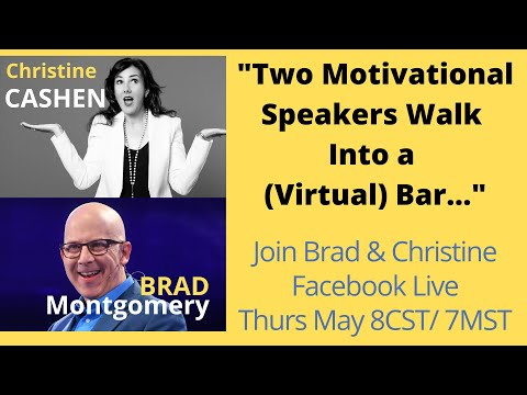 Brad Interviews Motivational Speaker Christine Cashen