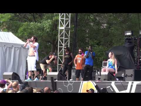 Lil Dicky - Lemme Freak - Live at Bunbury Music Festival in Cincinnati, OH on 6-7-15