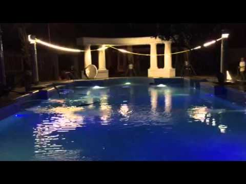 Thi công hồ bơi gia đình nghệ thuật