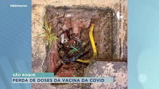 Vândalos furtam cabos de energia e telefonia de Unidade de saúde em São Roque