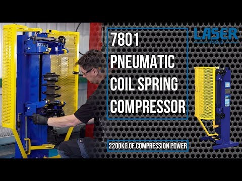 7801 Pneumatic Coil Spring Compressor | 2200kg of Compression Power!