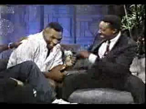 Muhammad Ali and Mike Tyson on same talk show – P1 (rare)